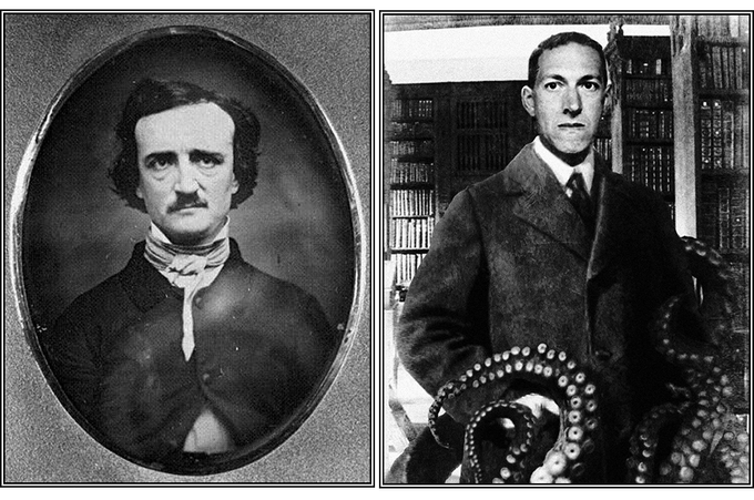 Edgar Allan Poe and Howard Phillips Lovecraft