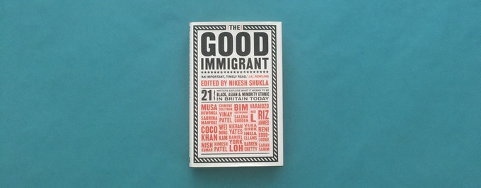 The original hardback edition of The Good Immigrant