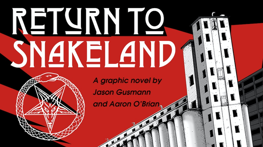 """""""Return to Snakeland"""" Limited Edition Graphic Novel project video thumbnail"""