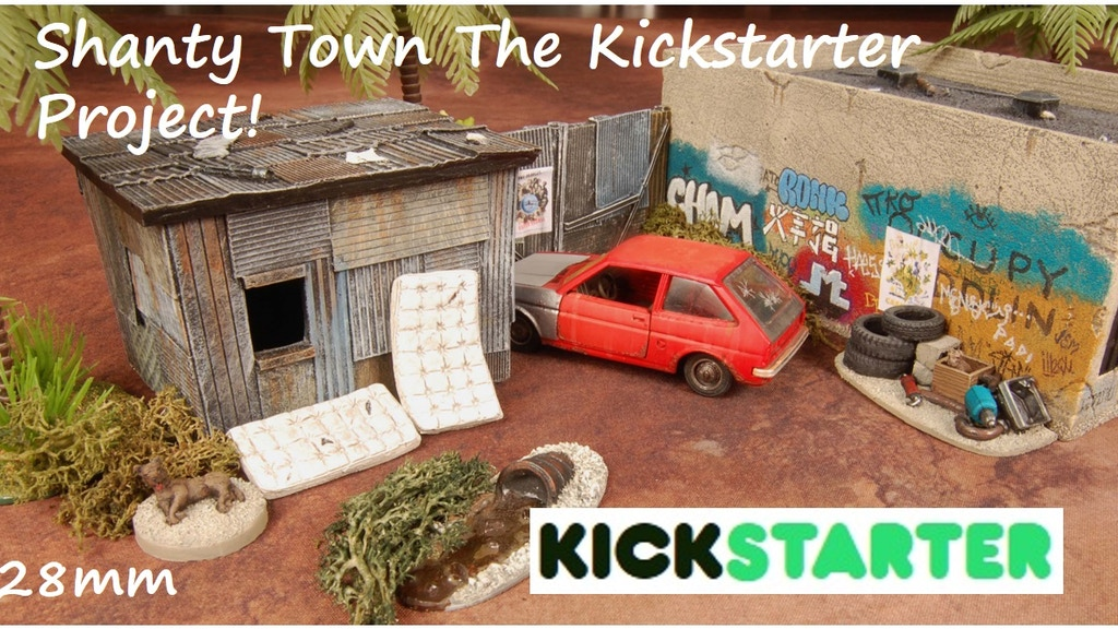 Shanty Town The Kickstarter Project project video thumbnail
