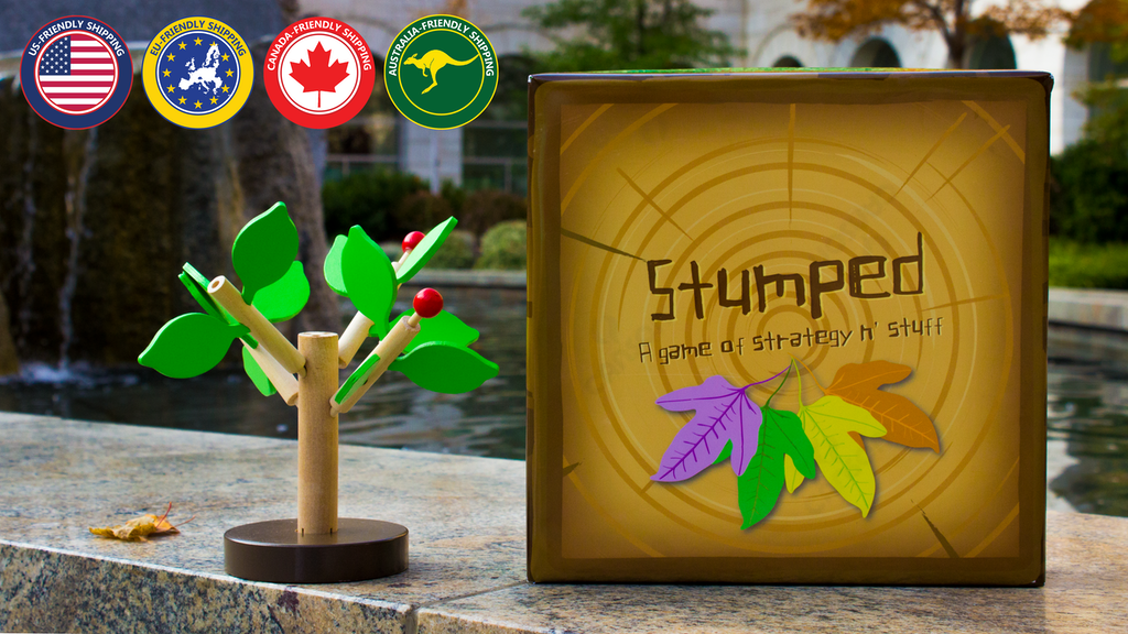 Stumped: A Deck-building Game with Buildable Wooden Trees project video thumbnail