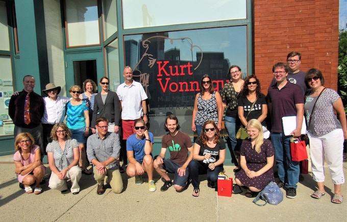 2017 Teaching Vonnegut Class and Instructors