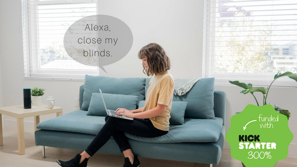 MySmartBlinds: the world's smartest window covering project video thumbnail