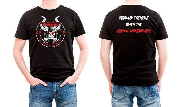 Curry favor with Udoroth by wearing the new Legion of Thunder shirt!