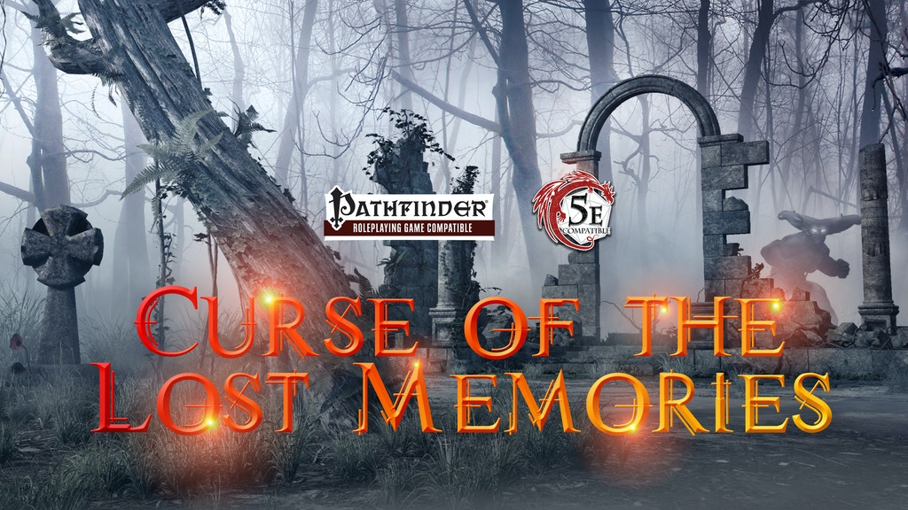 Curse of the Lost Memories - Dungeons & Dragons & Pathfinder project video thumbnail