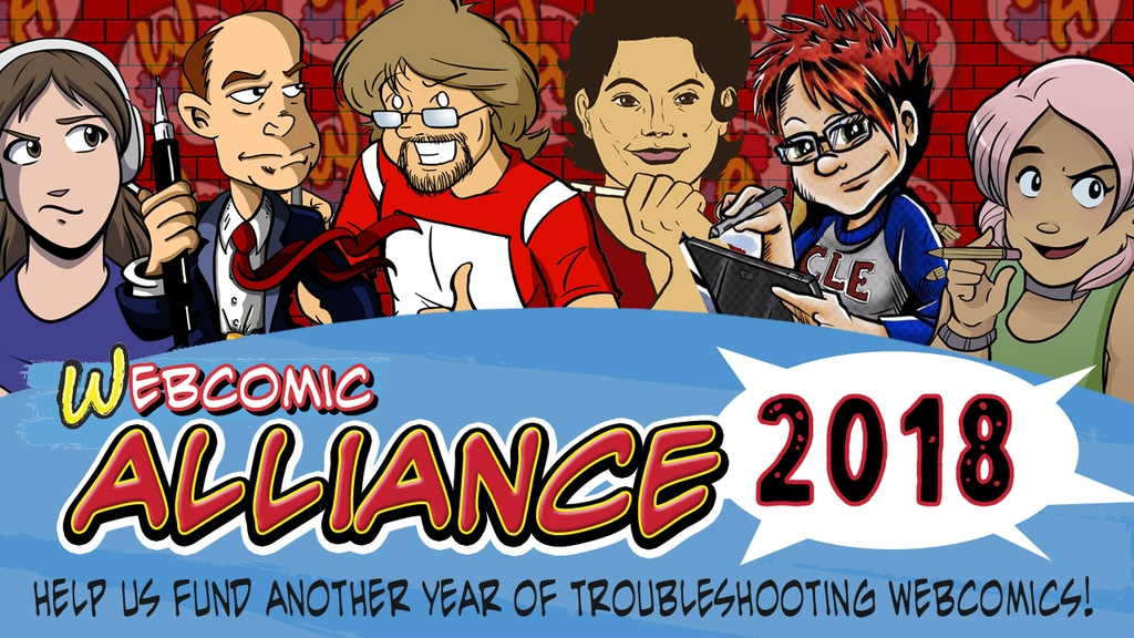 Webcomic Alliance Podcast - 2018 project video thumbnail