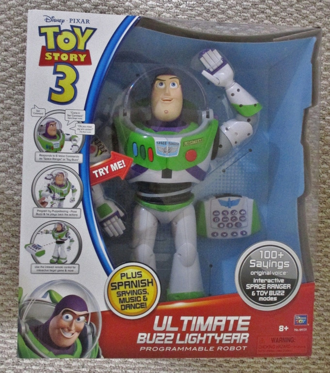 from Toy Story 3 -  Buzz Lightyear robot - Limited Edition