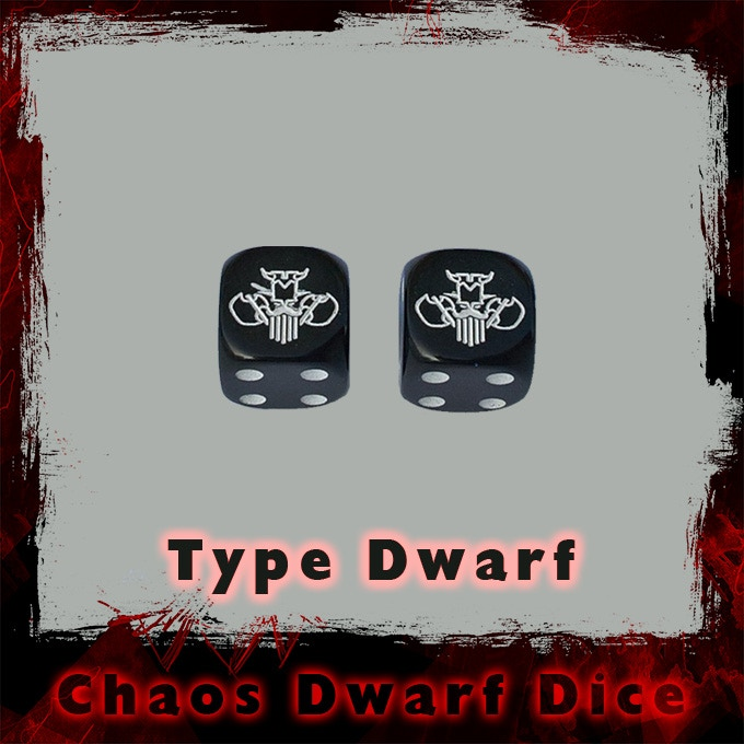 You can choose between Dwarf and Bull dice