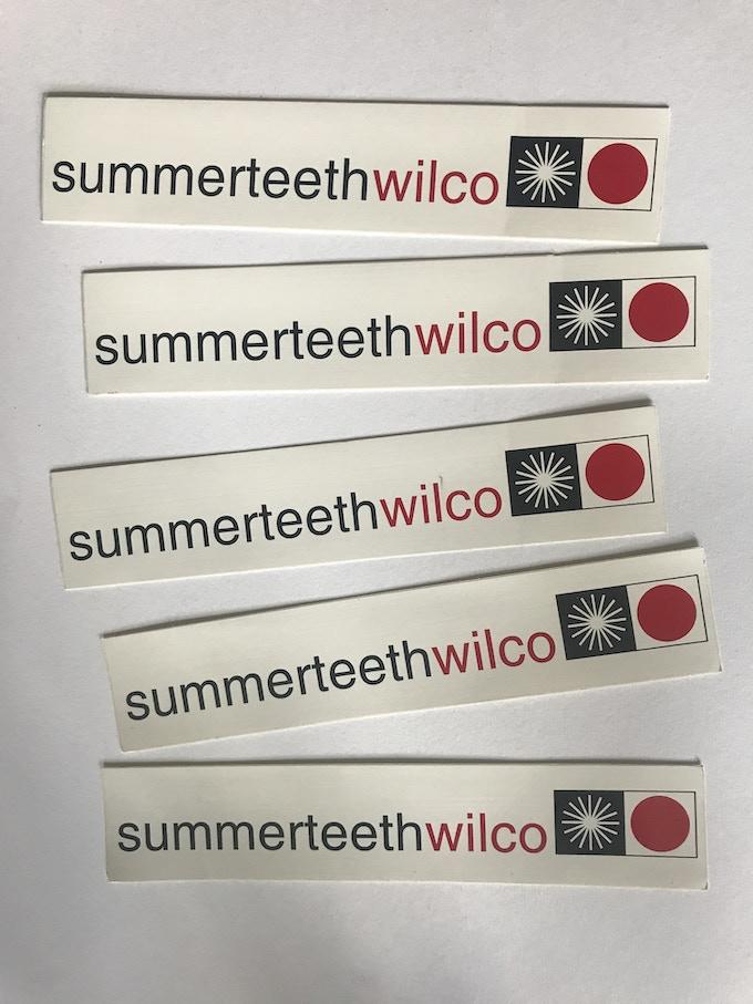 Original Summerteeth bumperstickers