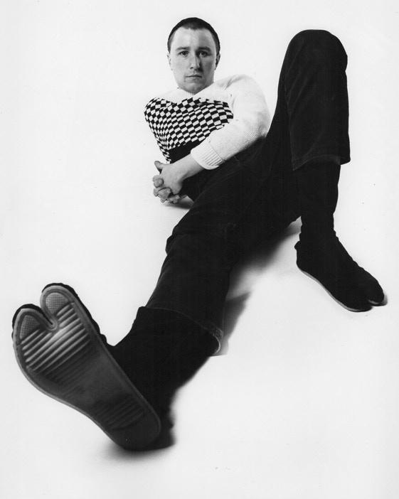 A young John Ellis.