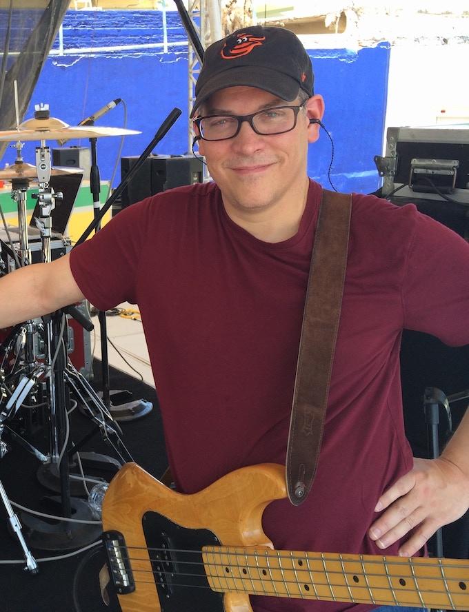 Dave Phenicie, not slappin' da bass