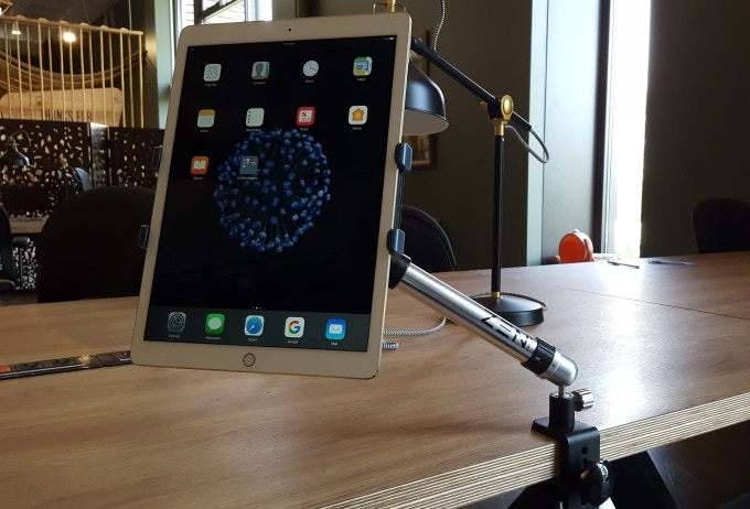 iPad Pro on Zen Mount with Universal Tablet Adapter