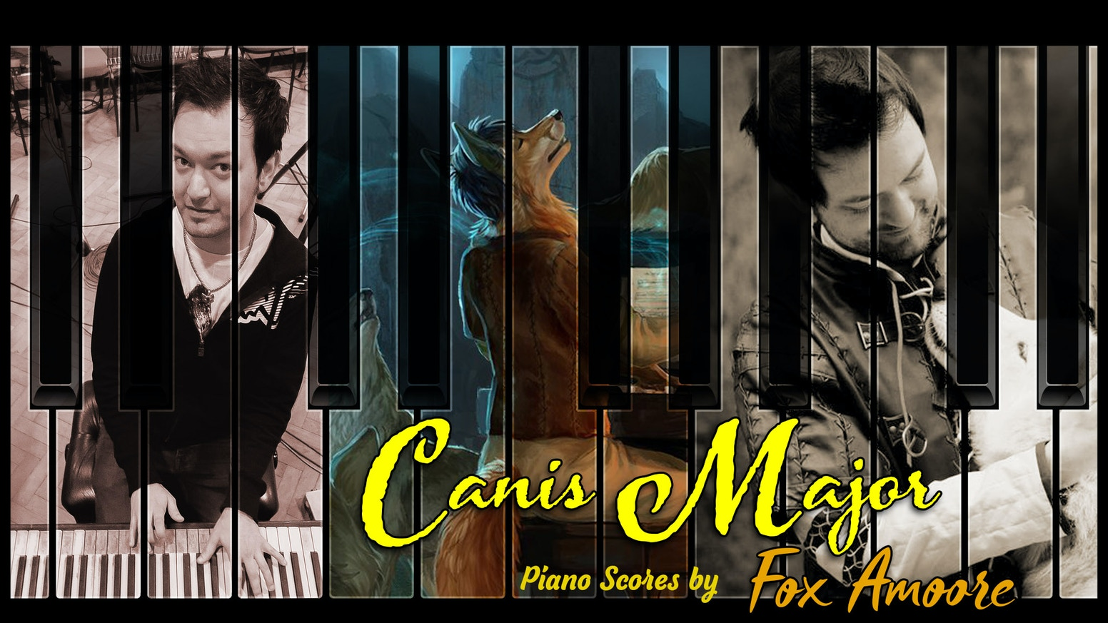 A collection of original pieces scored for piano by artist and composer Fox Amoore.