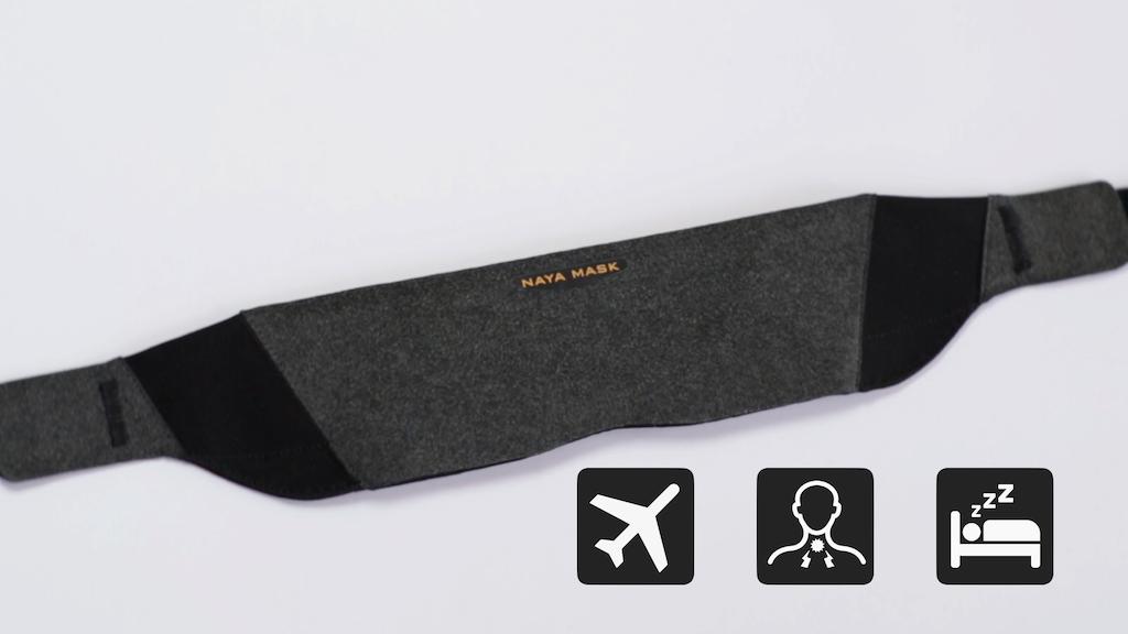 Project image for NAYA Mask: World's 1st Multi-purpose Sleep Mask (Canceled)