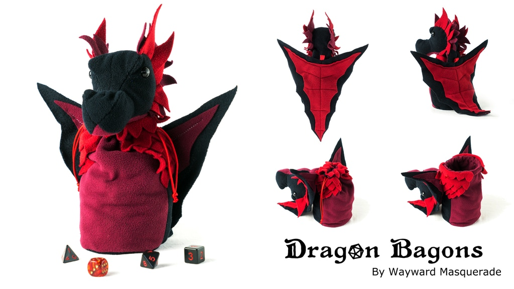Dragon Bagons; CR10 dragon dicebags project video thumbnail