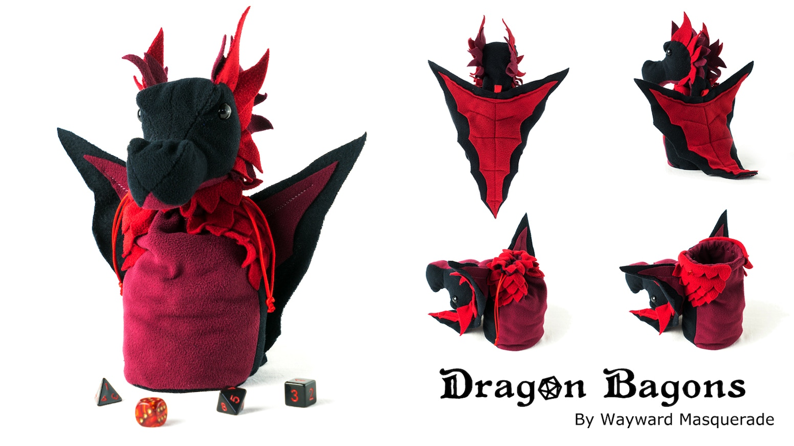 Do you have a dice hoard that needs guarding? A dragon could be your greatest ally.