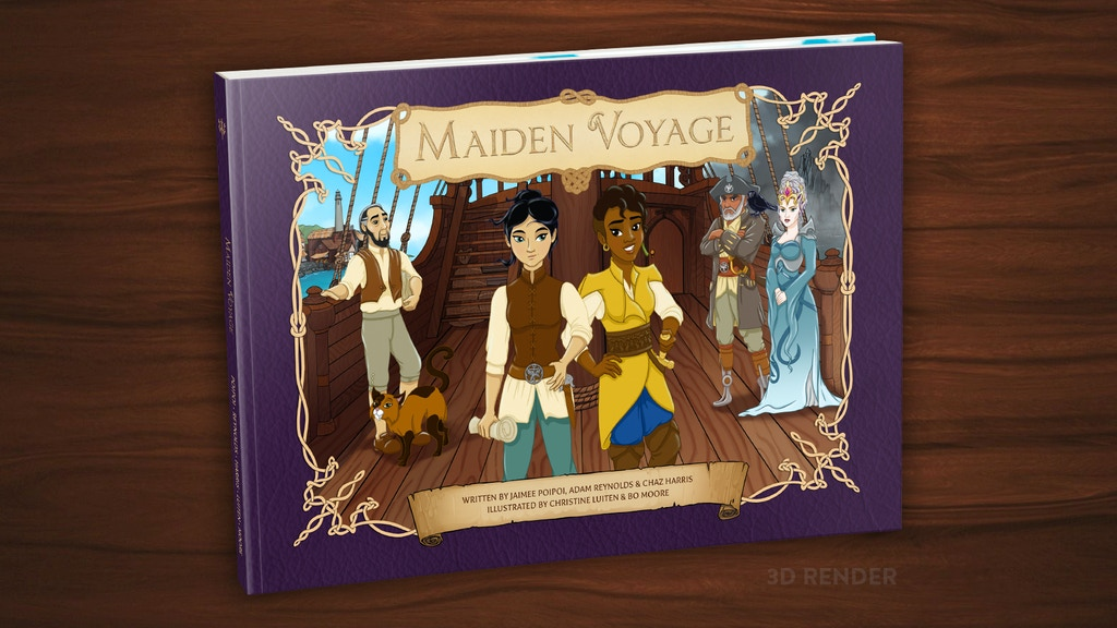 Maiden Voyage: An illustrated LGBTQ themed children's book project video thumbnail
