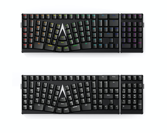 This is a *GRAPHIC RENDERING*. We will release real photos of the numpad as soon as we can