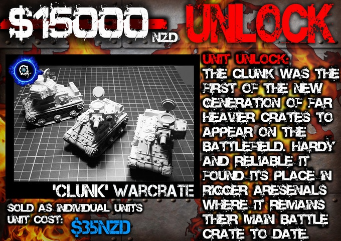 'Clunk' Warcrate (Main Battle Crate of the Rigger Faction)