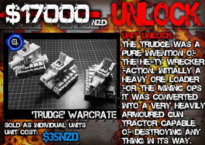 'Trudge' Warcrate (Main Battle Crate of the Wrecker Faction)