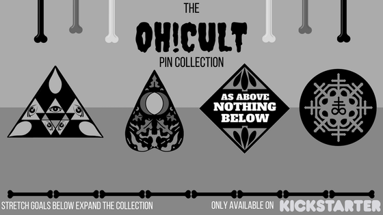 The OH!CULT Pin Collection. Enamel Pins