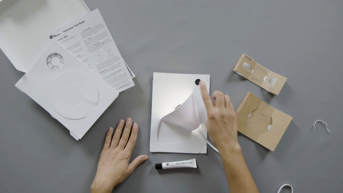 You did it! You've just transformed a piece of paper into a touch-sensitive lamp. Where will you put yours?