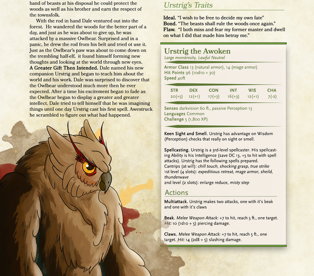 The Compendium of Wild Beasts 5E by Gemhammer Games