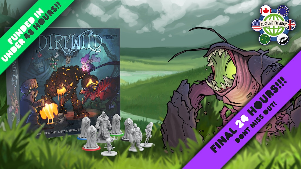Direwild! A cooperative deckbuilding dungeon crawl project video thumbnail
