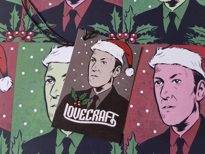 H.P Lovecraft Festive Tag