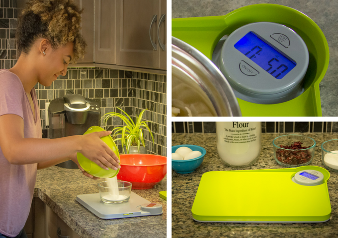 More accurate measurements - perfect for baking!