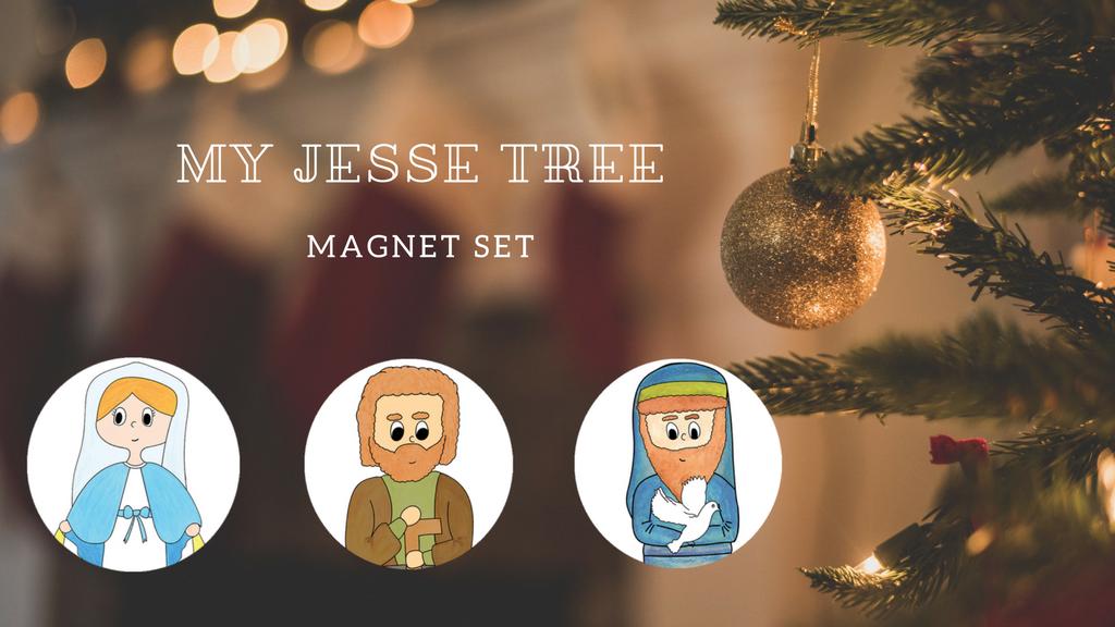 My Jesse Tree: Magnet Set project video thumbnail
