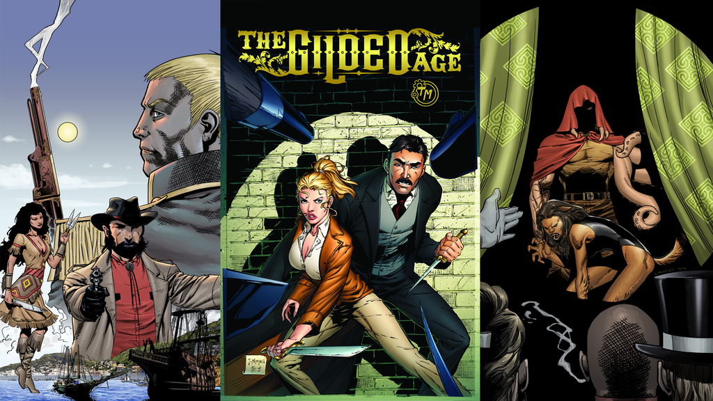 Gilded Age: Vol 1 - A Steampunk Graphic Novel project video thumbnail