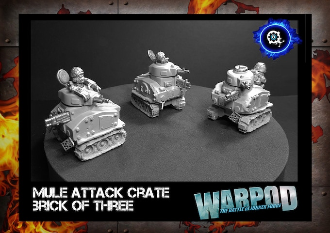 'Mule' Attack (anti-infantry) Warcrate