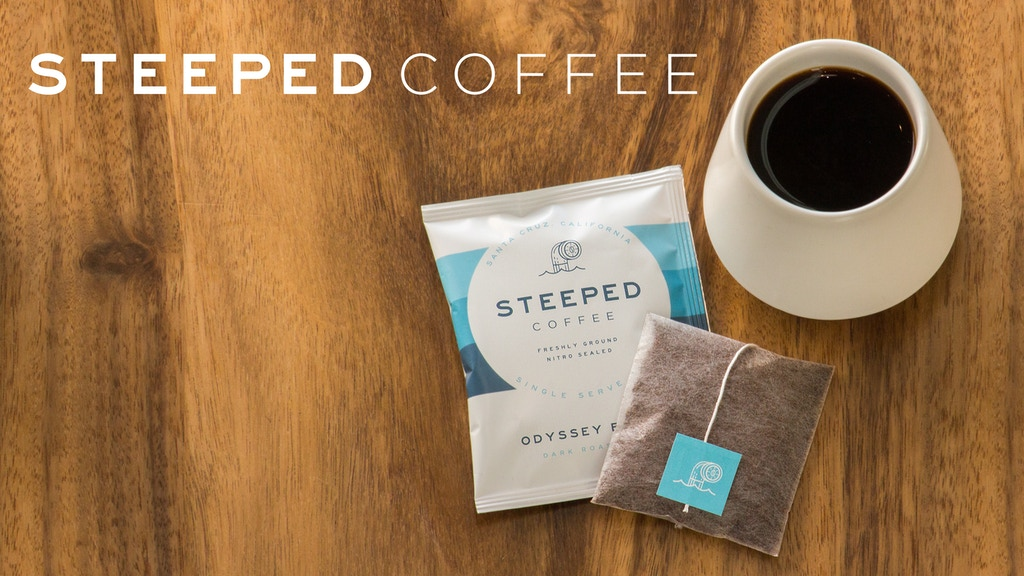 Steeped Coffee: Specialty Coffee in a Single-Serve Bag project video thumbnail