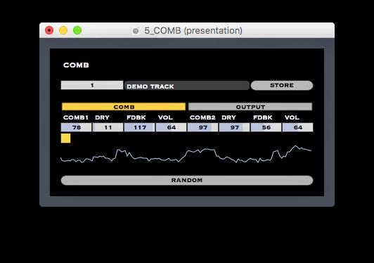 COMB (2 Comb Filters)