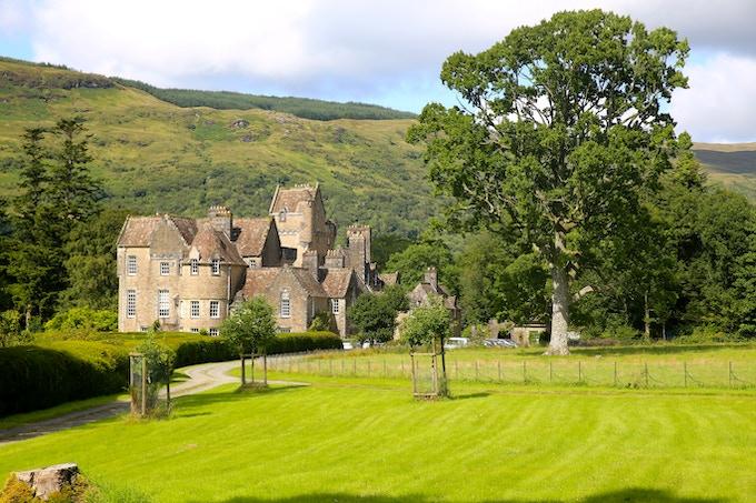 Ardkinglas House - home of Fyne Fiddles!