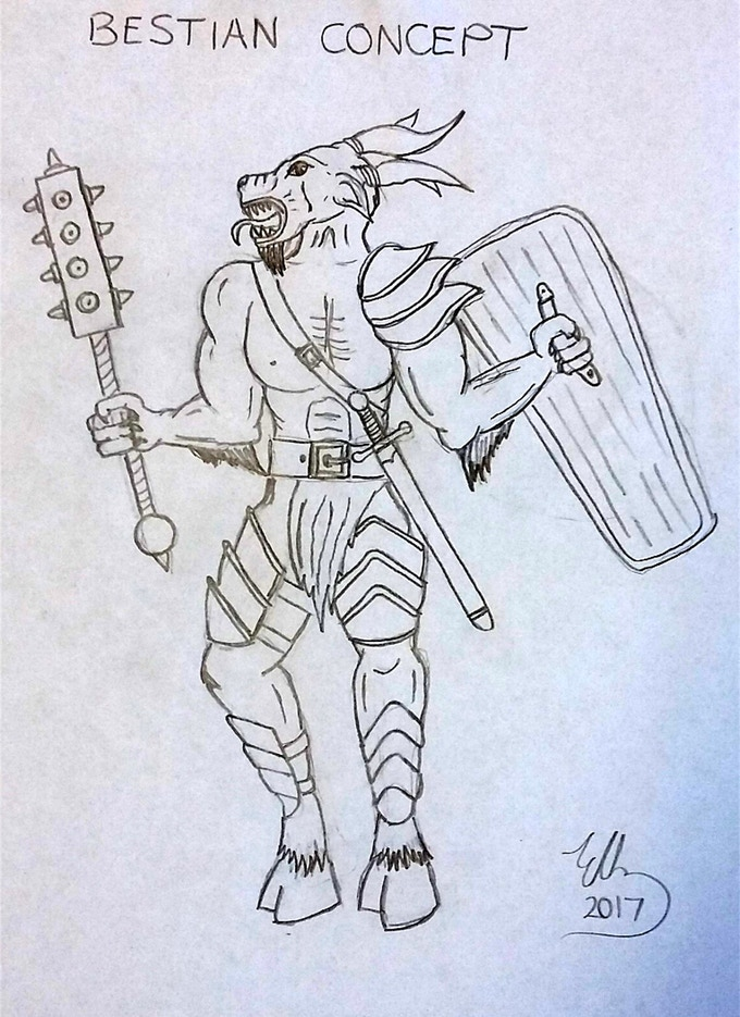Bestian Warrior Concept