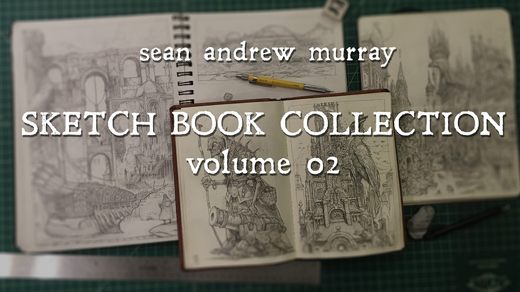 Sean Andrew Murray Sketchbook Volume 2 project video thumbnail