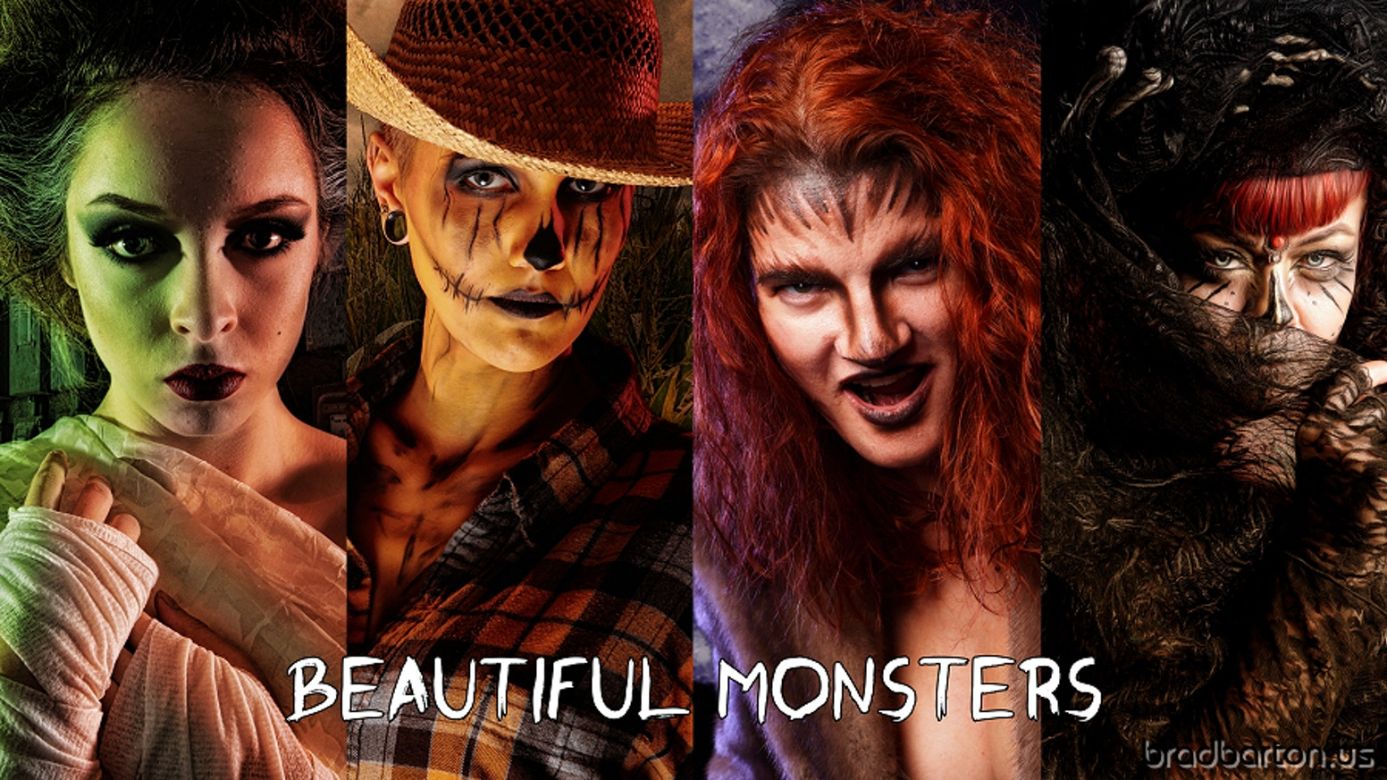 Beautiful Monsters is a full color art book filled with pinup style monsters inspired by classic literature and mythology.