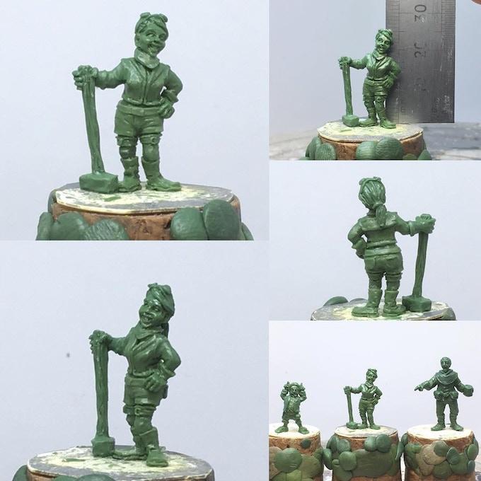 Female Dwarf Pathfinder