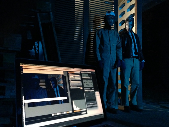 Agent Gagano & Lieutenant Palmer Eldritch inside Psychobook operating system