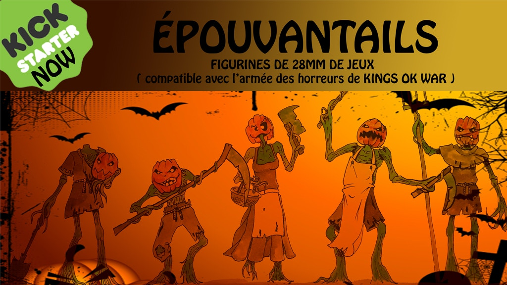 ÉPOUVANTAILS : 28mm Figurines de jeux SCARECROWS HALLOWEEN project video thumbnail
