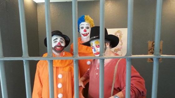 ESCAPE FROM CLOWN PRISON
