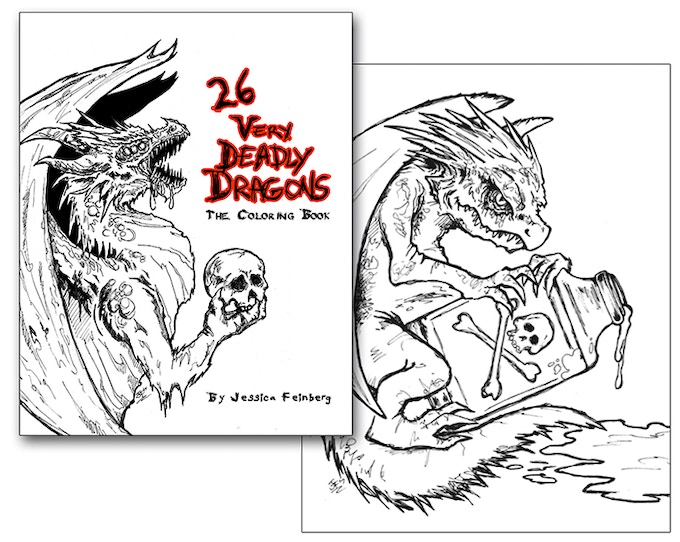 26 Very Deadly Dragons by Jessica Feinberg —Kickstarter