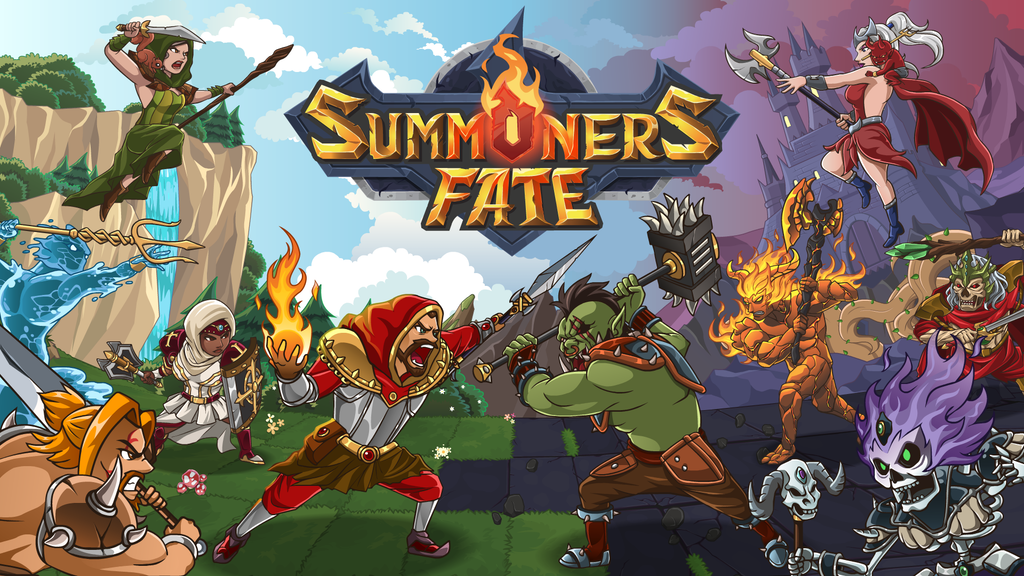 Summoners Fate: Fast and Fun Tactical RPG + CCG Adventure project video thumbnail