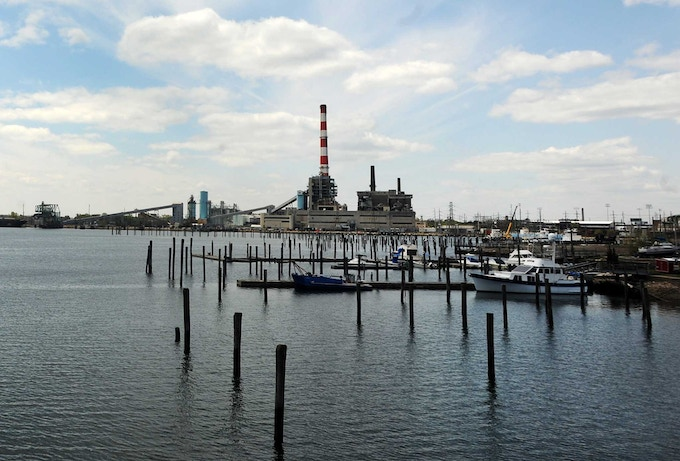 Bridgeport's Famous Red & White Striped Smokestack