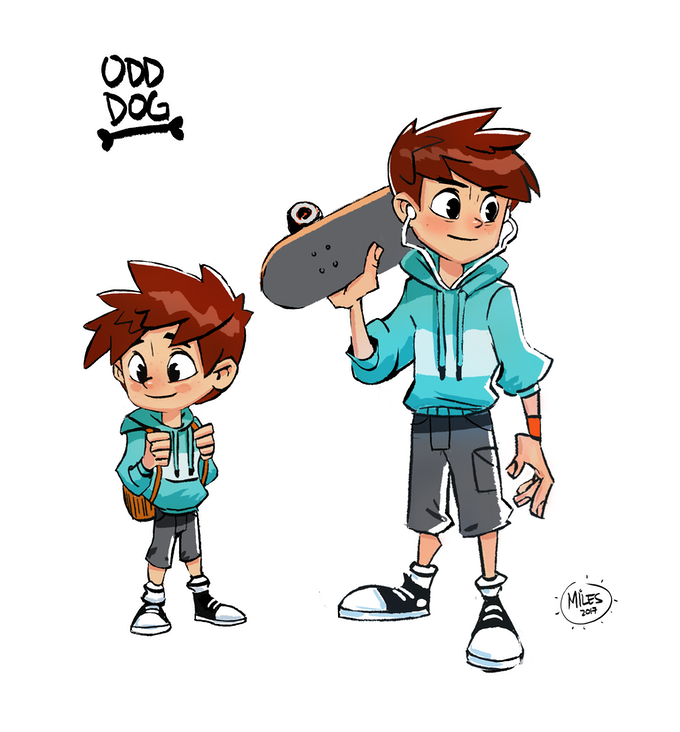 BOY character concepts by Miles Dulay.