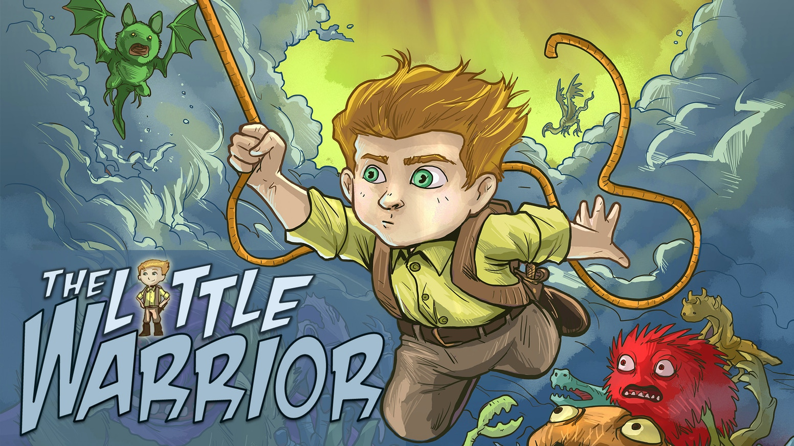 Follow the Little Warrior as he embarks on an amazing adventure, filled with dragons, ogres, magic, and a whole lot of heart.