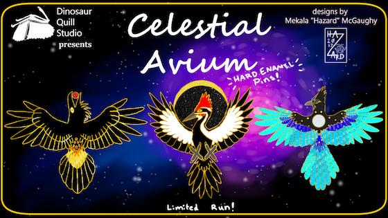 Celestial Avium pins