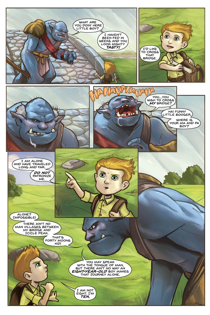 Issue #1, Page 3